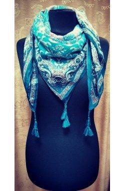 Шарфы, палантины, платки #3